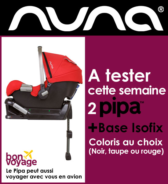 Pipa Isofix Nuna