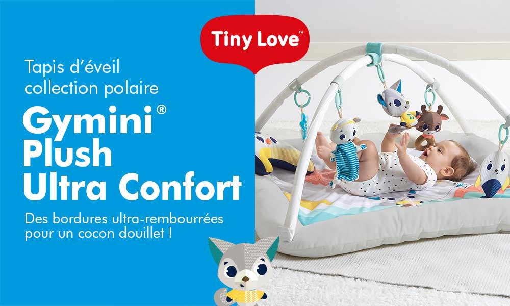 baby test tapis plush tiny love