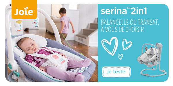 baby test balancelle transat serina joie