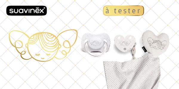 baby test set white suavinex