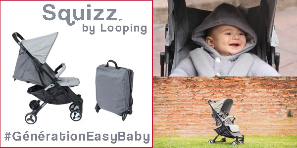 baby test poussette compacte Squizz Looping