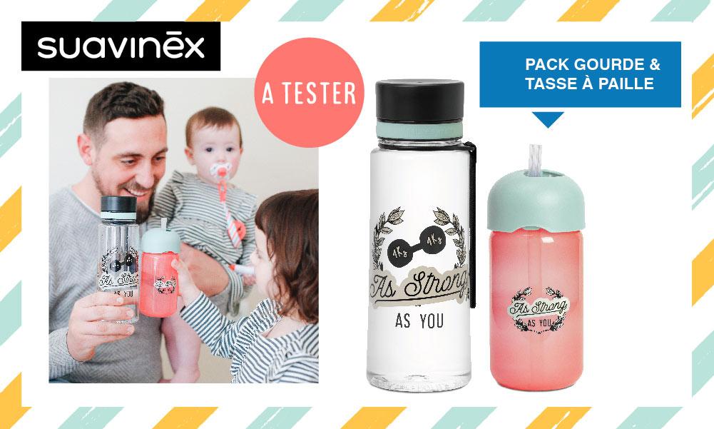 baby test pack tasse gourde suavinex