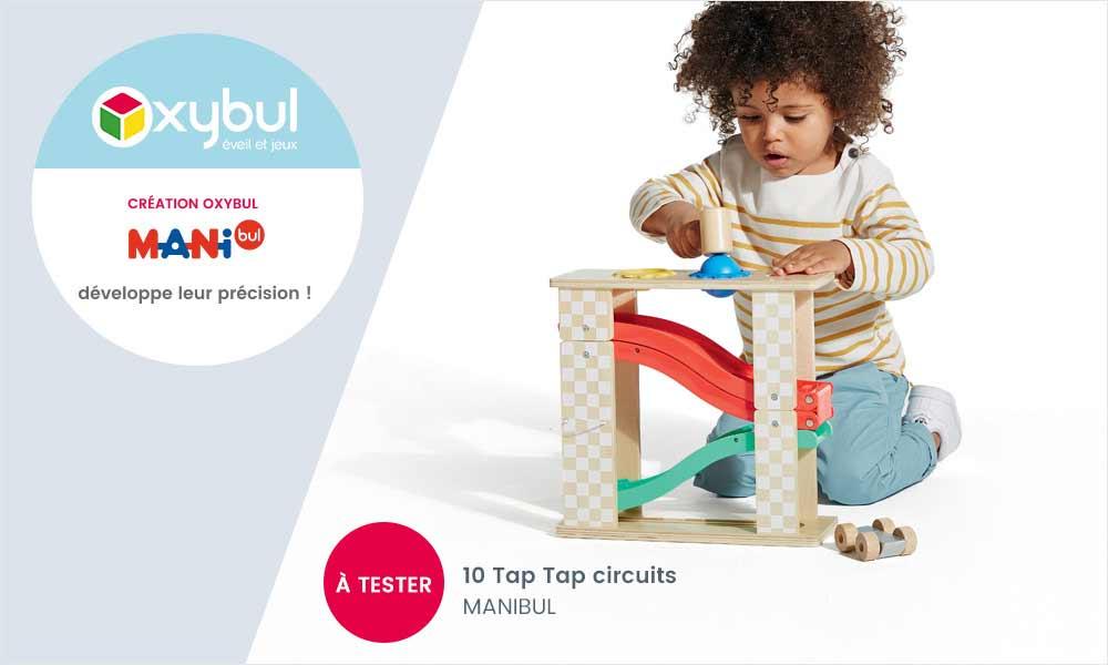 baby test tap tap manibul oxybul
