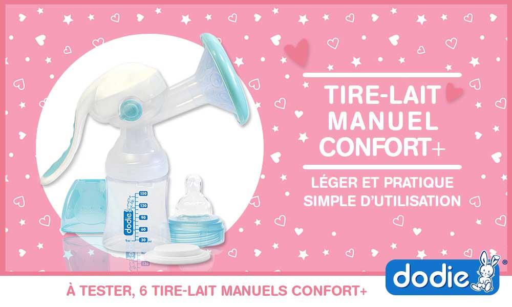 baby test tire-lait manuel confort+ de dodie