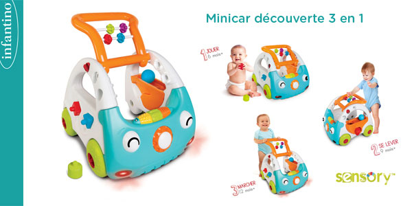 baby test trotteur mini cars infantino