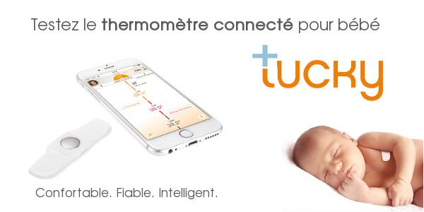 baby test thermometre Tucky