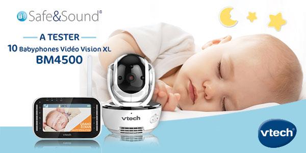 babyphone video vtech à tester