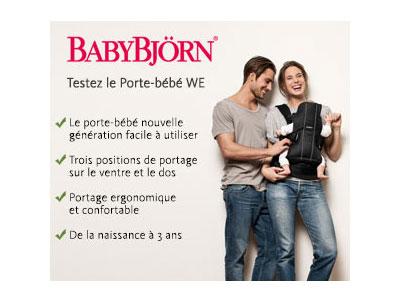 test porte bebe babybjorn